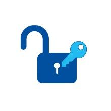 Symboldbild: Schlüssel und Schloss